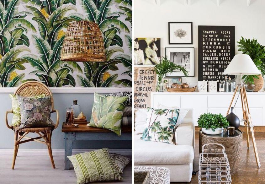 """Arredare la casa in stile""""Urban Jungle / tante idee - 6854"""