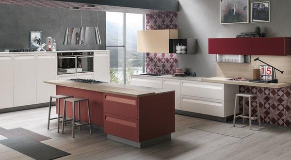 Stosa Cucine-Modelli progettati per idee ultima tendenza 1