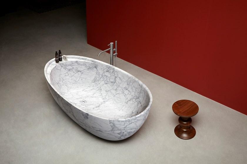 Vasca Da Bagno Lupi : Eclipse vasca da bagno in marmo di carrara u2013 italstroy